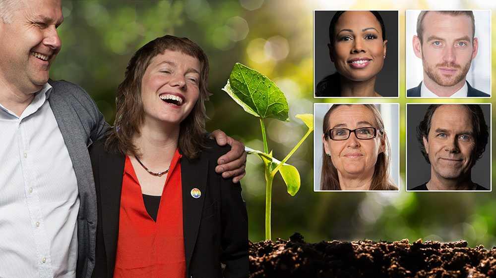 Medan vänstern pratat har vi gröna arbetat för massiva investeringar i klimaträttvisa, socialt hållbar omställning, den första lagstiftningen i EU om klimatfeminism, enklare tågresor till Europa, en europeisk klimatlag och reformerat EU:s handel med utsläppsrätter, skriver debattörerna.