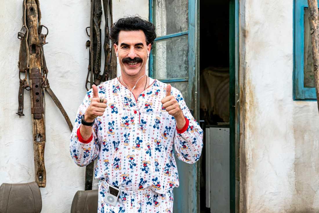 Sacha Baron Cohen som Borat i den nya filmen. Arkivbild.