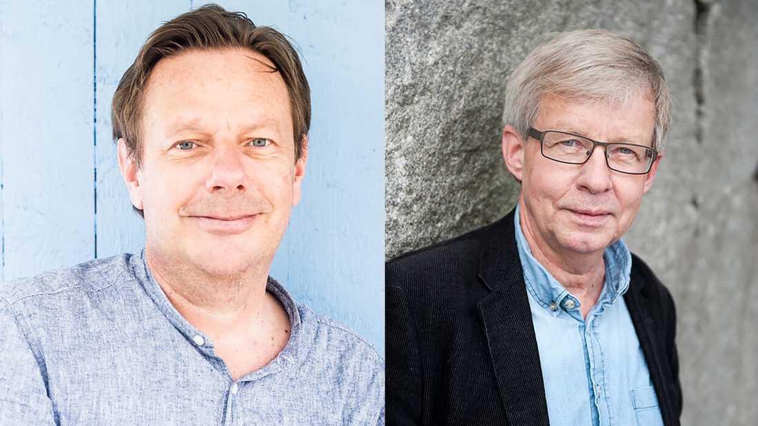 """Folke Tersman och Torbjörn Tännsjö, professorer i praktisk filosofi, har utkommit med debattboken """"Folk & Vilja""""."""