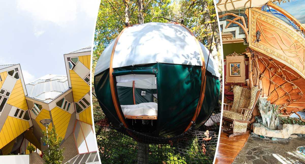 Airbnb: 9 annorlunda semesterboenden