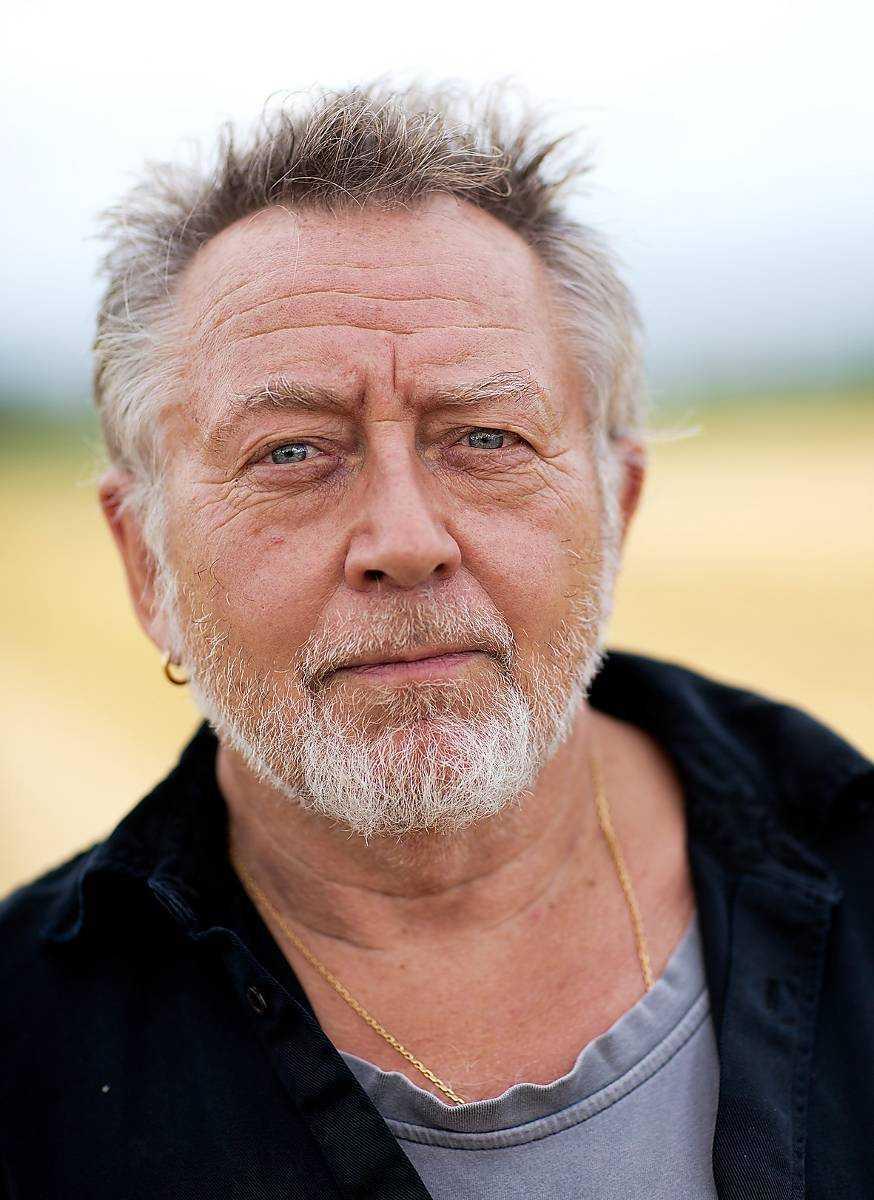 Författaren och rockartisten Ulf Lundell.