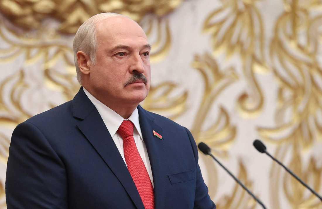 Belarus president Alexandr Lukasjenko.