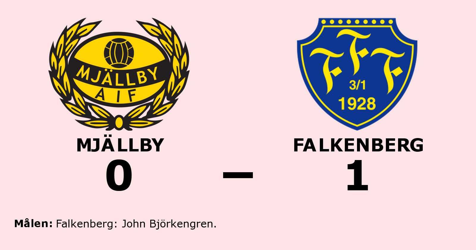 John Björkengren målskytt när Falkenberg sänkte Mjällby