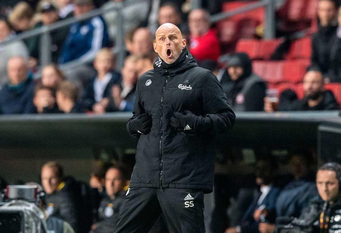 FCK-tränaren Ståle Solbakken.