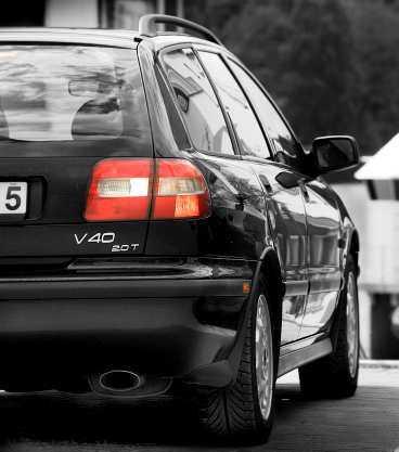 Vi gillar/Volvo V40  Formerna står sig bra i förhållande till modernare konkurrenter.