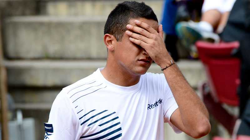 Almagro var chanslös i finalen mot landsmannen David Ferrer.