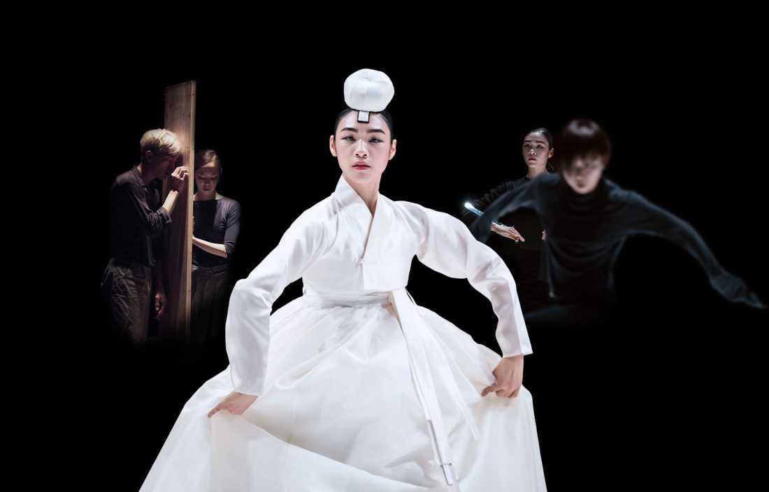 KOREA CONNECTION. Två danskompanier delar scenen: Skånes Dansteater, Malmö och Korea National Contemporary Dance Company (KNCDC), Seoul. På bilden: Immixture av Sungsoo Ahn