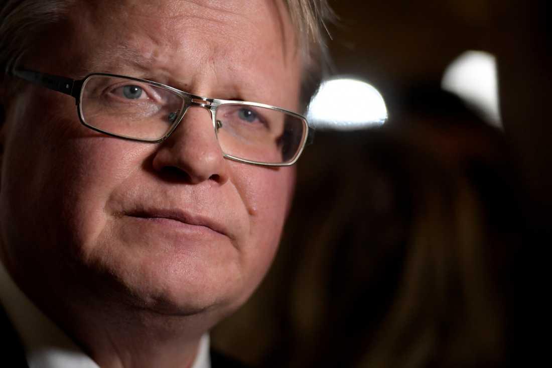 Försvarsminister Peter Hultqvist