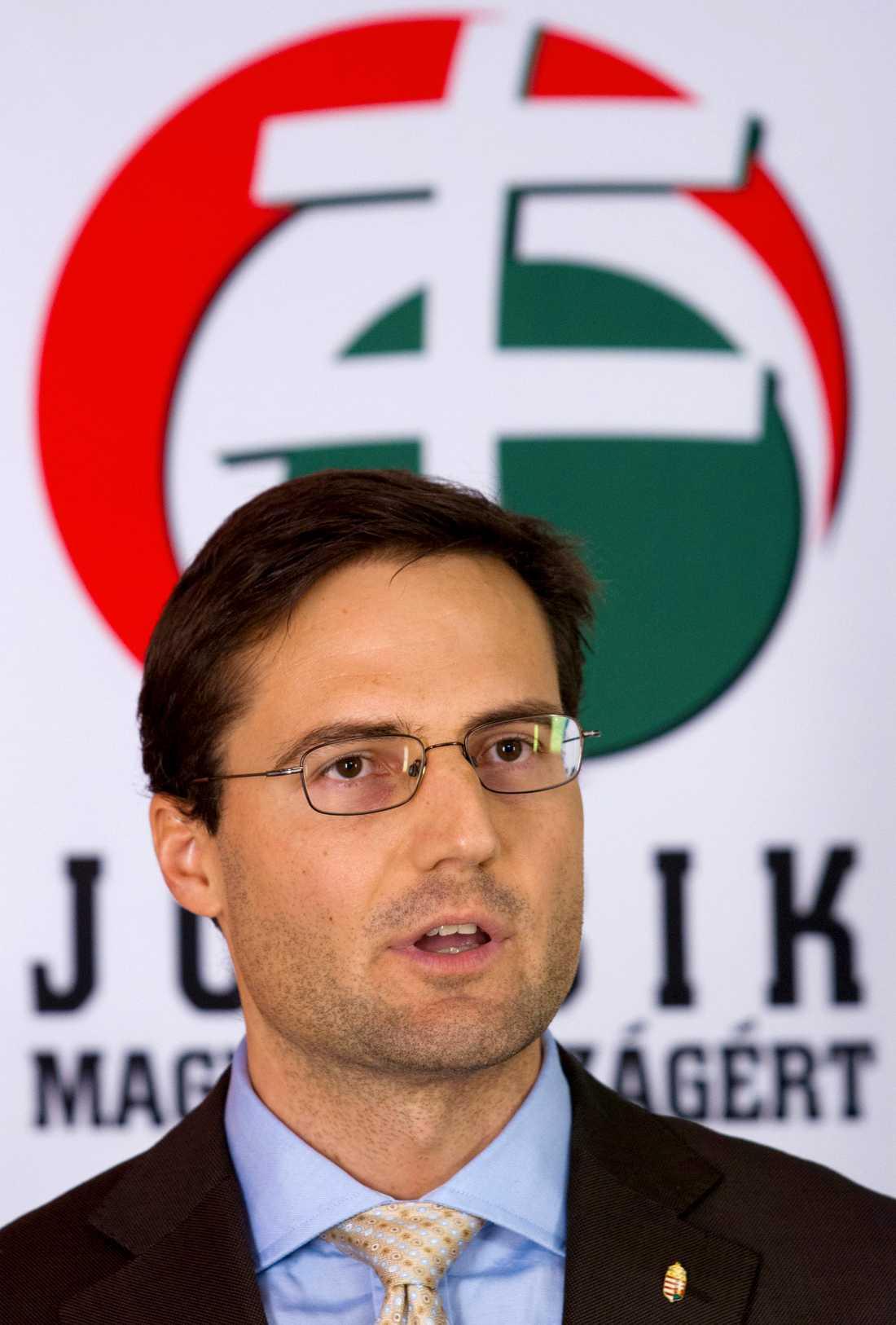 Marton Gyongyosi, ledare för extrempartiet Jobbik.