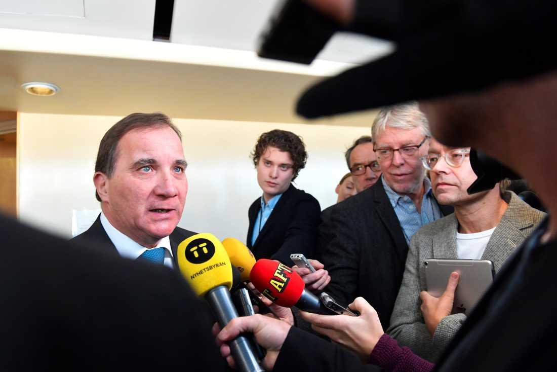 Statsminister Stefan Löfven (S). Arkivbild