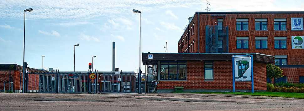 HÄR GÖRS BECEL OCH LÄTTA Unilevers anläggning i Helsingborg.