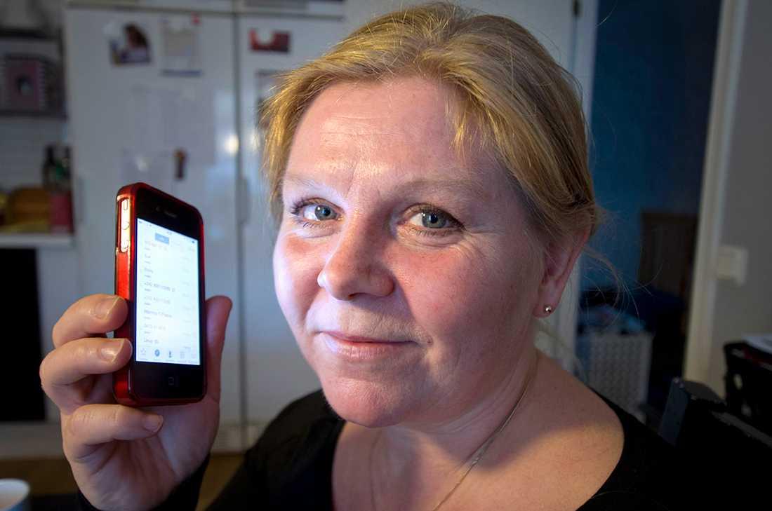 Mariell Andersson ringde bluffnumret - och blev vettskrämd när hon trodde hennes tonårsdotter var utsatt för våldtäkt.