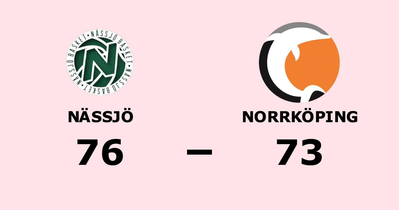 Nässjö reducerar mot Norrköping efter seger
