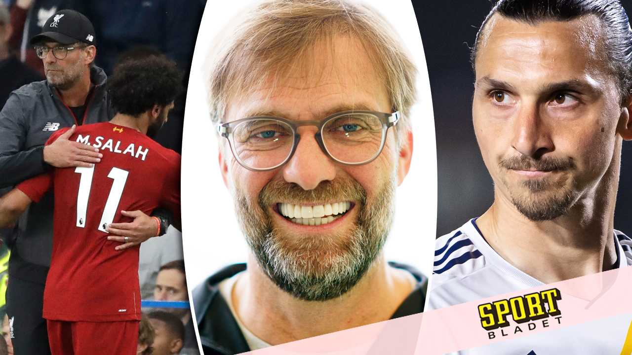 """Jürgen Klopp i exklusiv intervju med Sportbladet – hyllar Zlatan: """"Hoppas han inte slutar – världen hade saknat honom"""""""