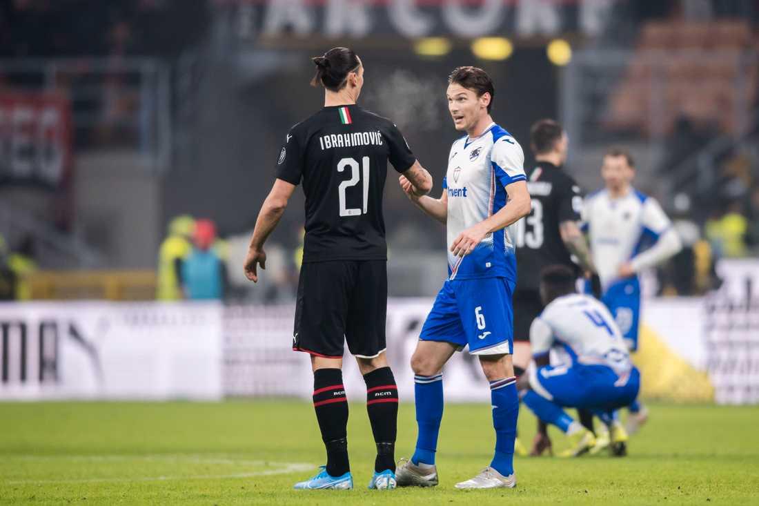 Albin Ekdal och Zlatan