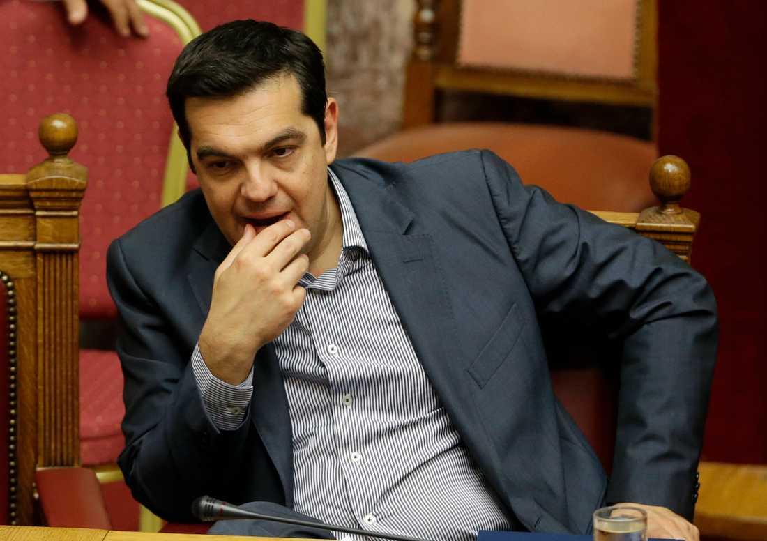 Greklands premiärminister Alexis Tsipras.