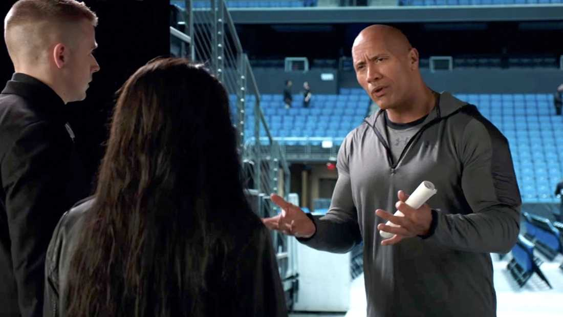"""Dwayne Johnson i """"Fighting with my family""""."""