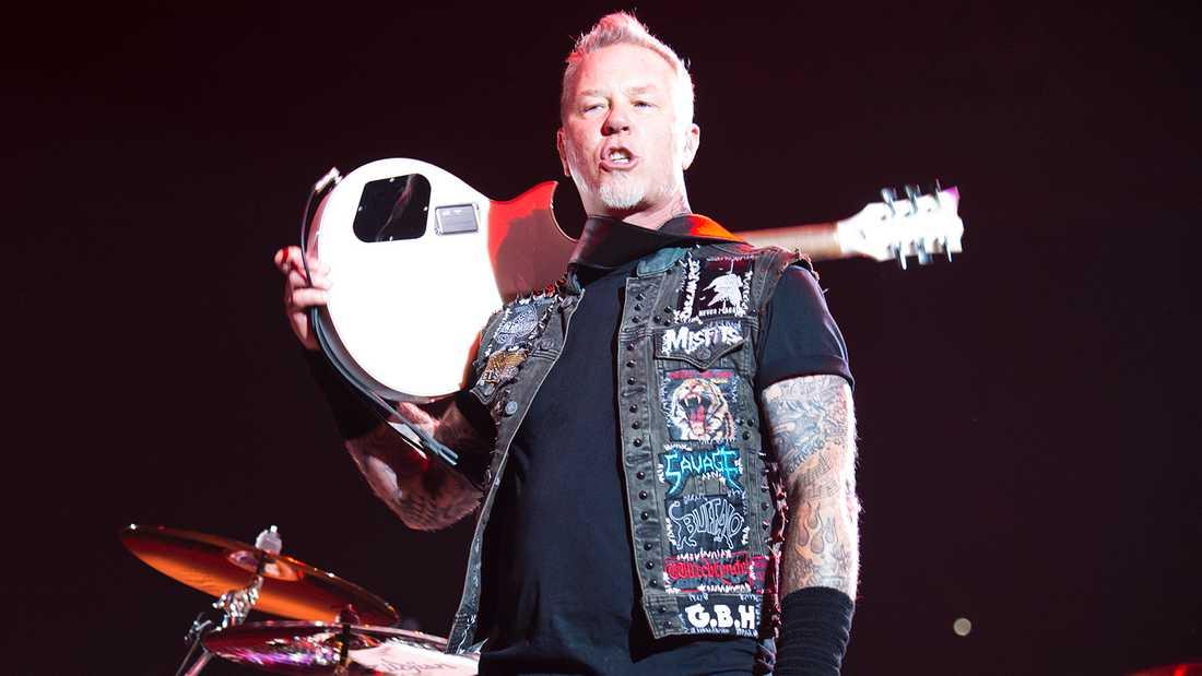 Metallica i Sverige.