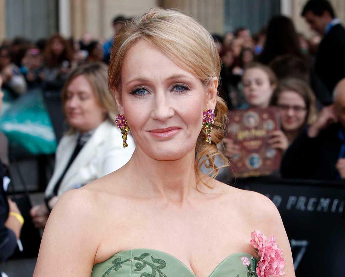 JK Rowling, känd för ett gäng hyfsat framgångsrika Harry Potter-böcker.