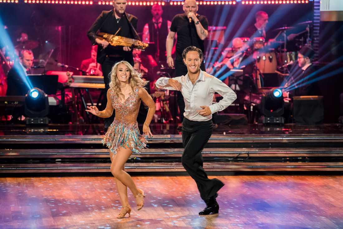 """Ellen i """"Let's dance""""."""