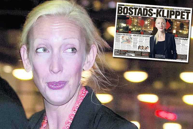 pressad Sofia Arkelsten hävdar att hon fick hyreskontraktet på lägenheten på Södermalm i Stockholm geom en bekant. Tidigare har hon i SVT:s Uppdrag granskning sagt att det var hennes pappa som ordnade kontraktet. (Infällt Aftonbladet i går.)