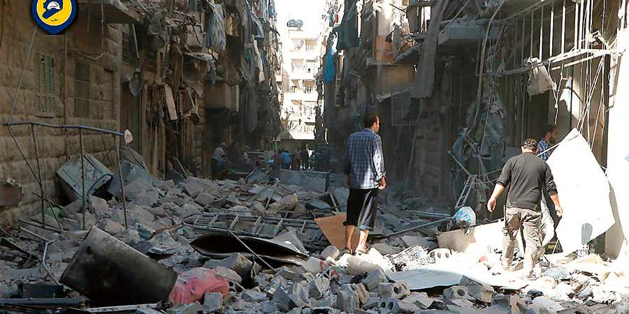 Attackerna mot Aleppos civila är intensivare än någonsin.