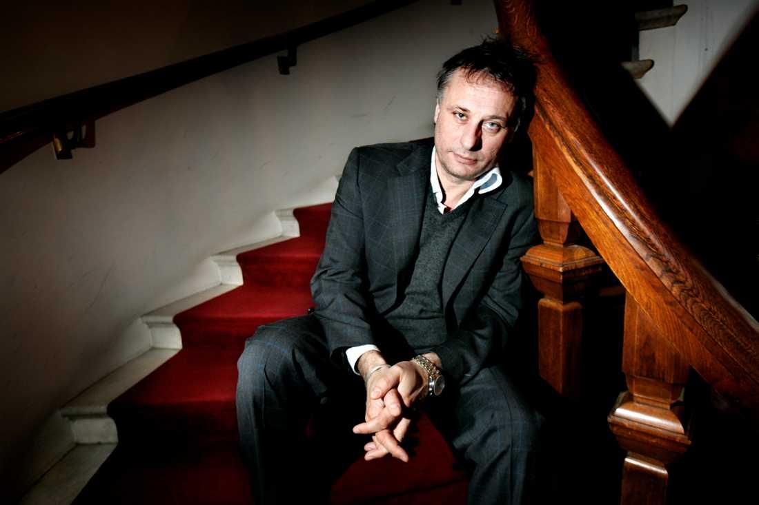 Porträtt av Michael Nyqvist i december 2006.