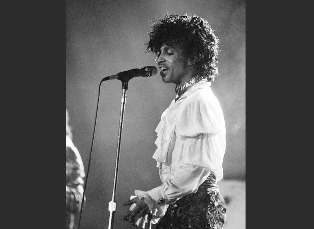Prince på Purple Rain tour, Miami 1985