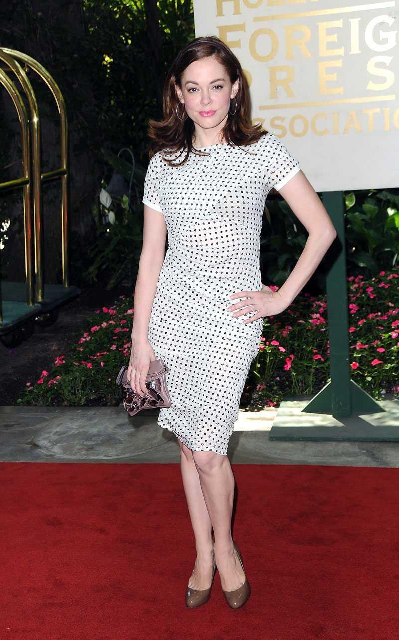 Prickigt är modellen för Rose McGowan.