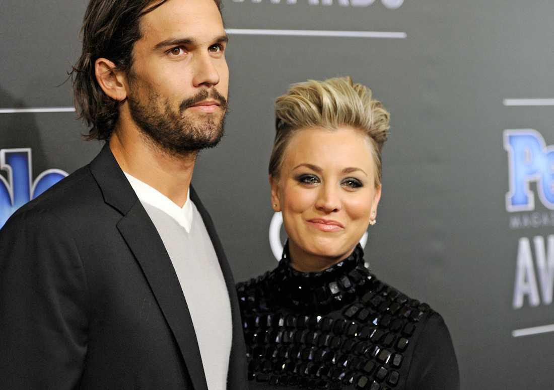 Ryan Sweeting och Kaley Cuoco var gifta i 21 månader.