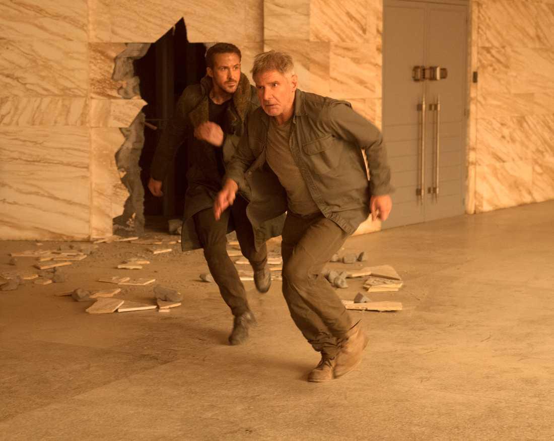 """Ryan Gosling spelar mot Harrison Ford i """"Blade runner 2049"""""""