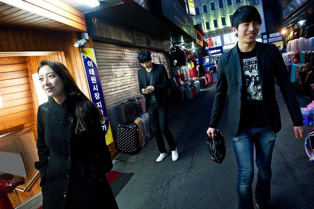 Jun Seok, 20, Jimin Park, 23 och Jun Bum, 22.