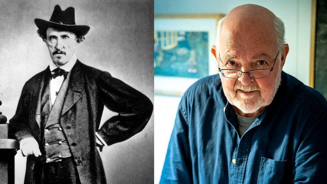 """Författaren Carl Jonas Love Almqvist  (1783–1866). """"Det är skandalöst att storbanken Nordea hindrar den forskning som håller på att lösa en av landets mest kända kriminalgåtor"""", skriver Bunny Ragnerstam."""