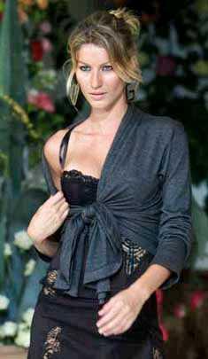 TRÅDSMAL. Supermodellen Gisele Bündchen har inspirerat de brasilianska kvinnorna till att suga fett från midjan.