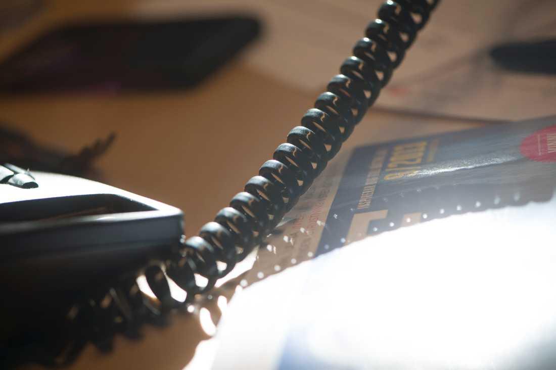 Regeringen satsar på den nationella stödtelefonen för våldsutsatta. Arkivbild.