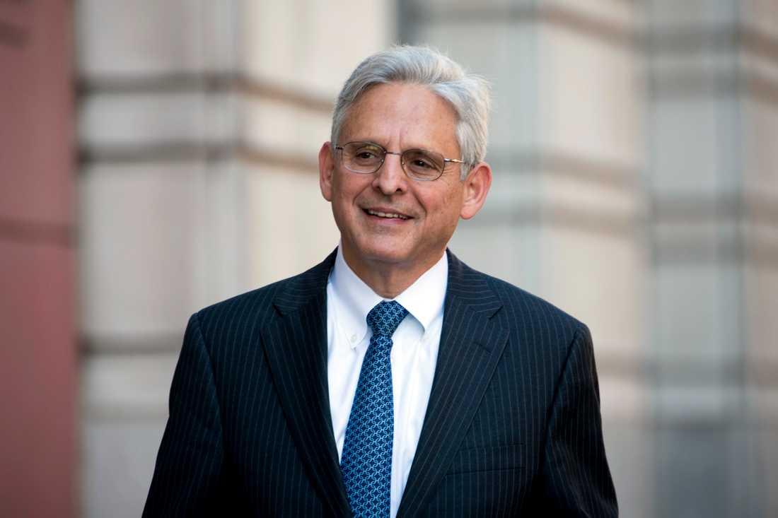 Merrick Garland, som USA:s president Joe Biden har nominerat till posten som justitieminister. Arkivbild.