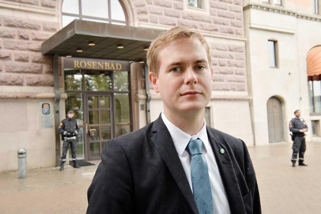 Utbildningsminister Gustav Fridolin (MP).