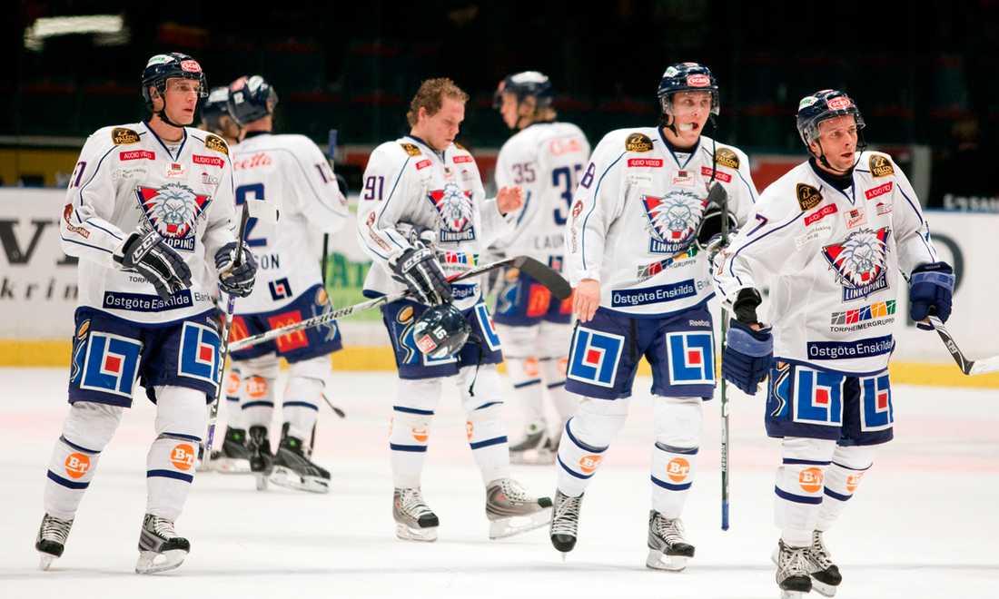 Linköping HC deppade efter en förlust.
