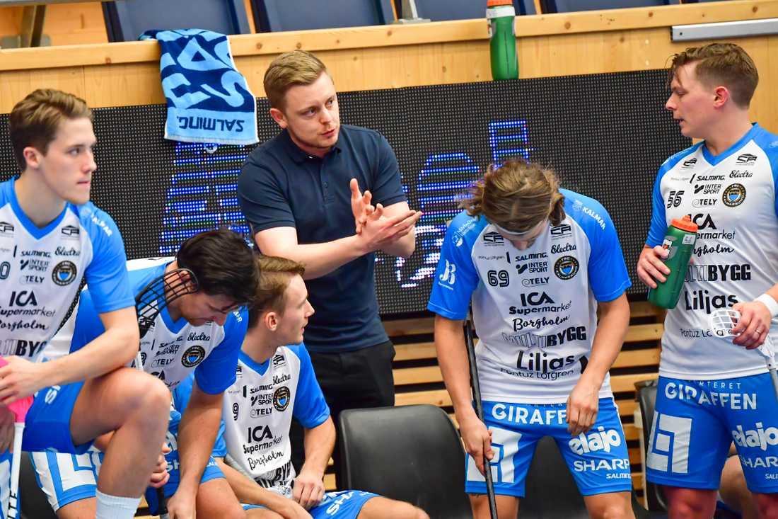 Kalmarsund tvingas dra sig ur SM-slutspelet i innebandy. Arkivbild.