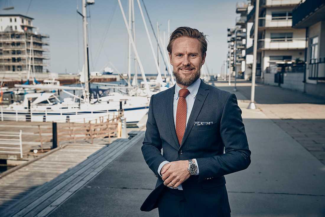 Mattias Larsson, vd Bjurfors Skåne