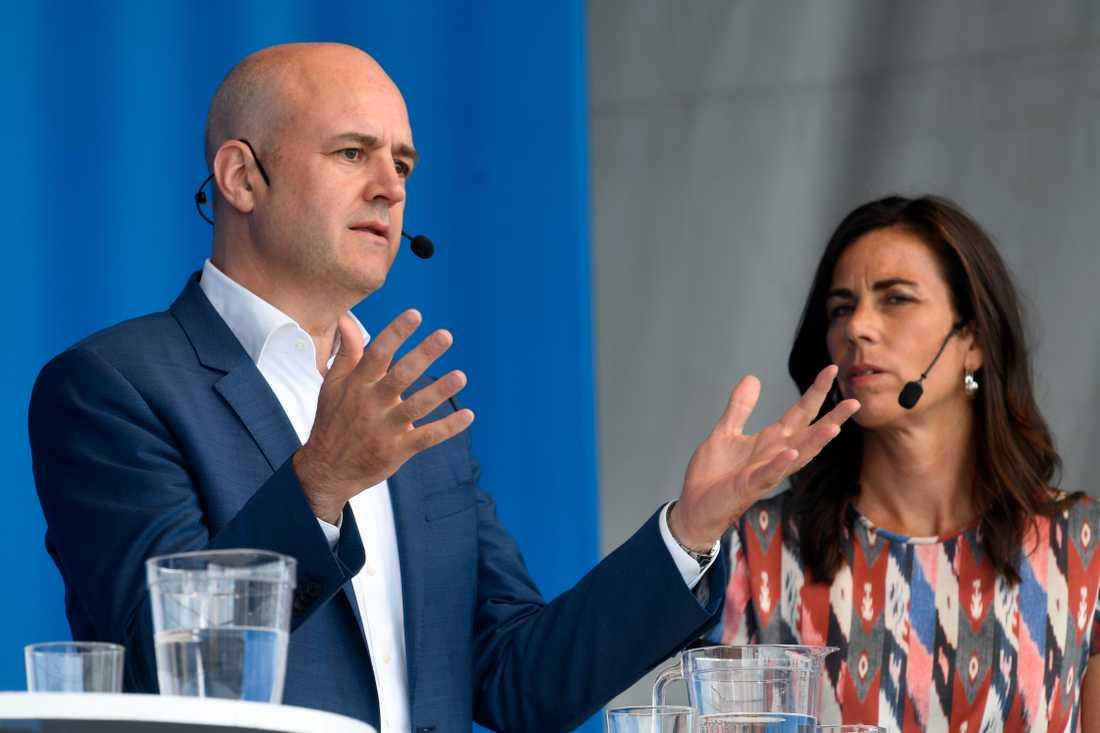 Fredrik Reinfeldt talade under Järvaveckan.