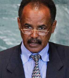 Eritreas president Isaias Afwerki.