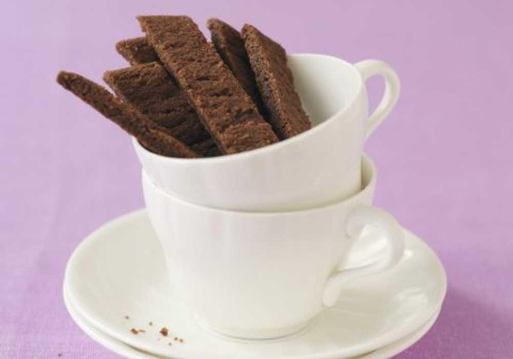 Kaksnittar med kola och choklad