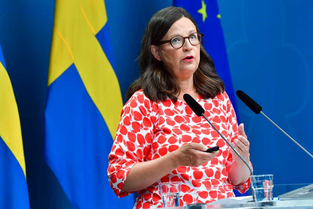 Mer fakta och mindre analys för yngre elever i de nya kursplanerna, berättar utbildningsminister Anna Ekström (S).