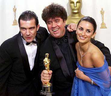 Spanske regissören Pedro Almodóvar gjorde Antonio Banderas och Penélope Cruz till världsstjärnor.