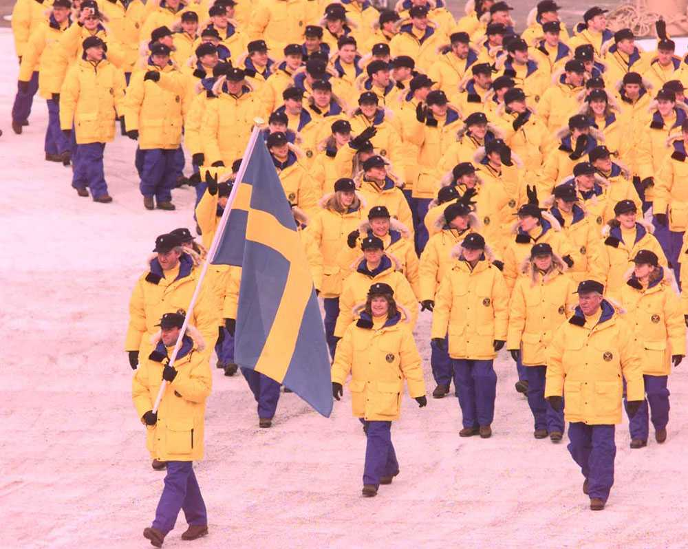 1998 i Nagano: Torgny Mogren, skidåkning.