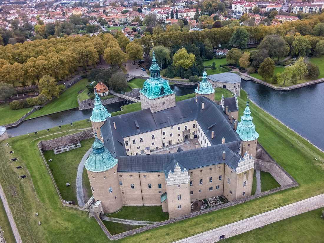 Kalmar slott – ett av världens 21 vackraste, enligt CNN. Arkivbild