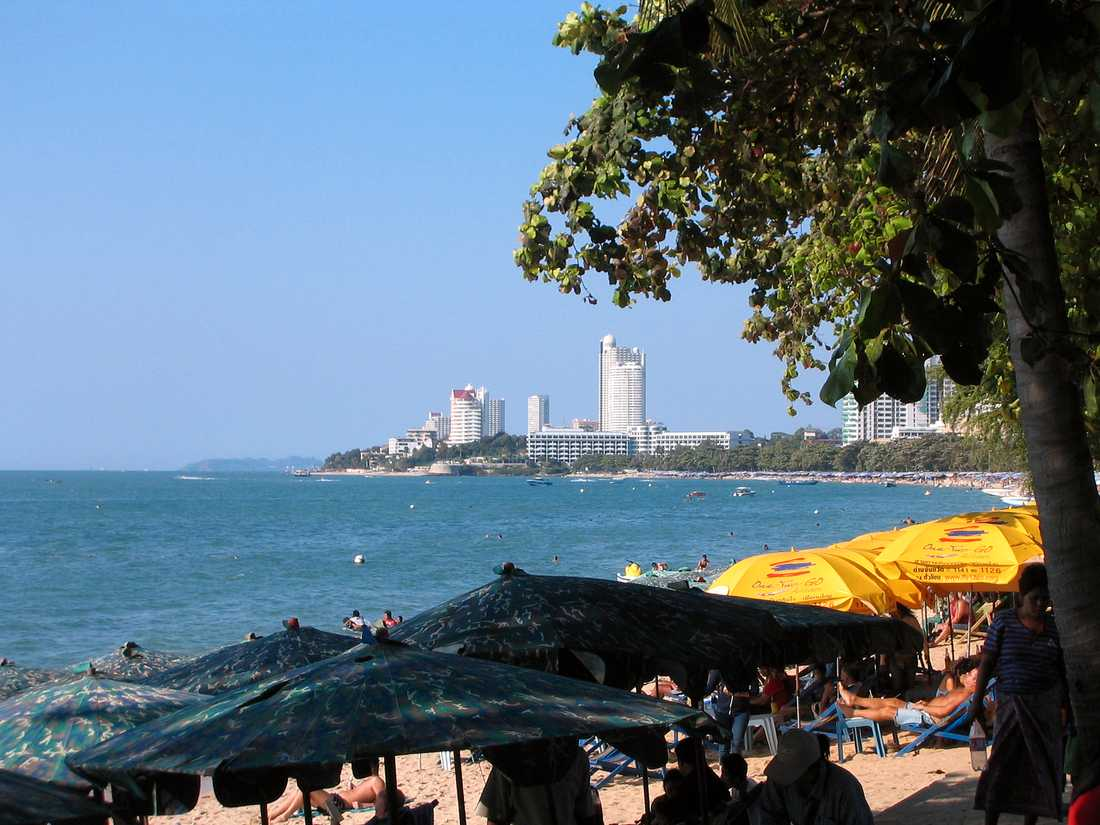 Här i Pattaya ska Fis kongress hållas.