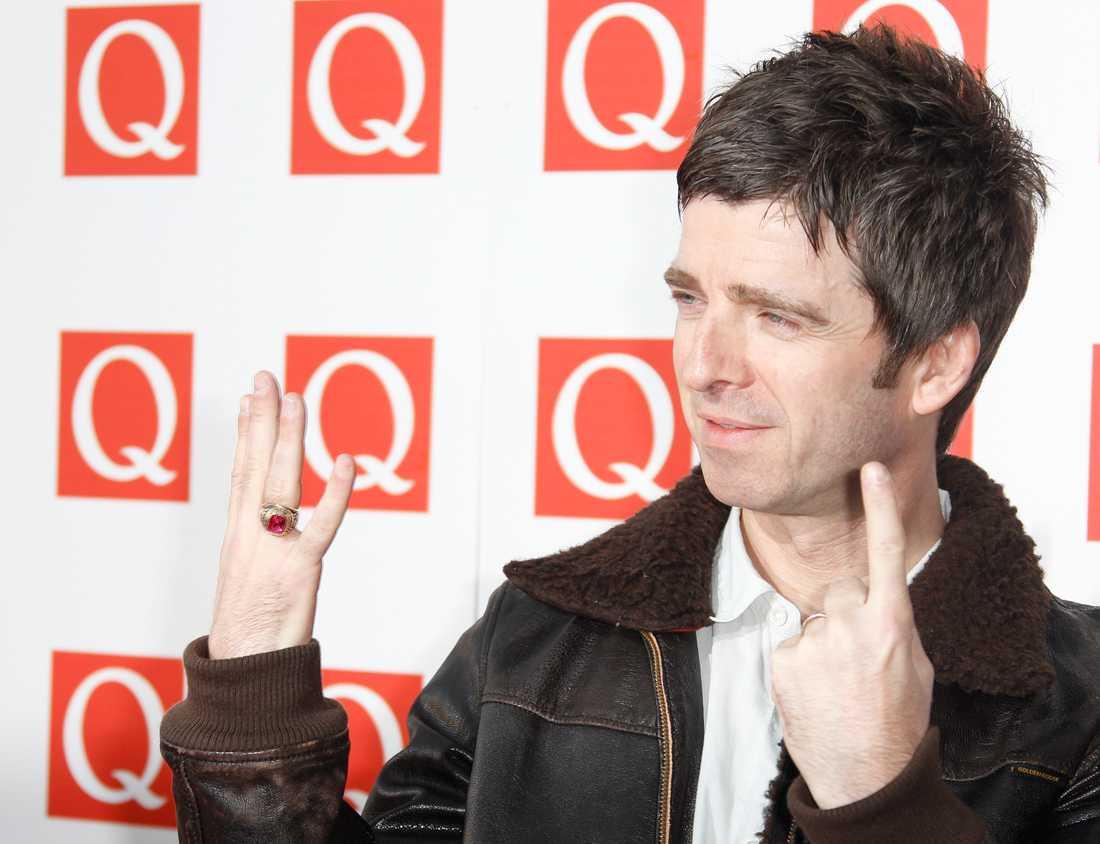 Noel Gallagher på musiktidningen Q:s prisgala 2011. Arkivbild.