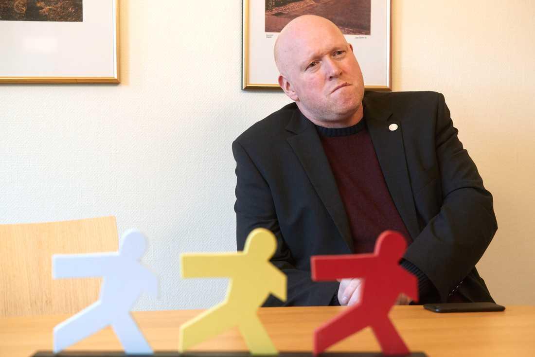 """""""Vi kommer säkert ha väljare som blir jättebesvikna på oss"""", Magnus Persson (SD)."""
